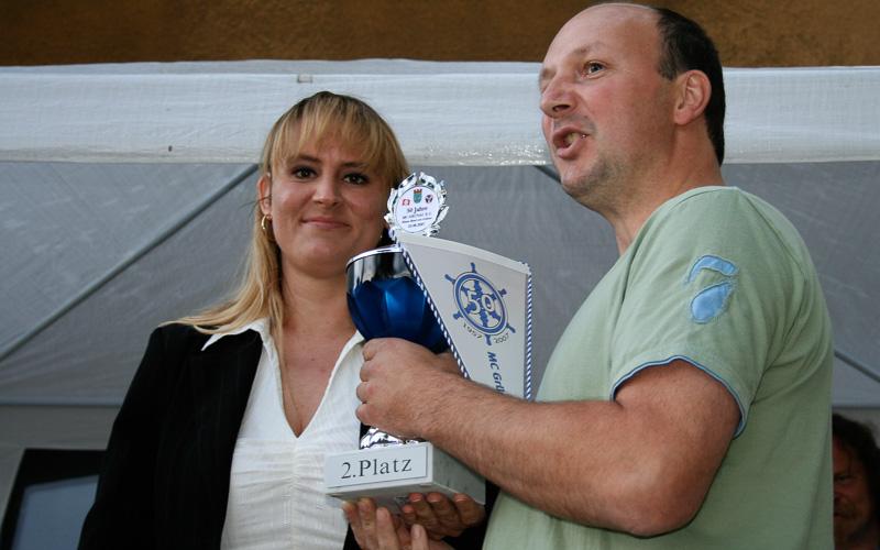 Präsidentin des MVB, M. Plöger übergab die Pokale