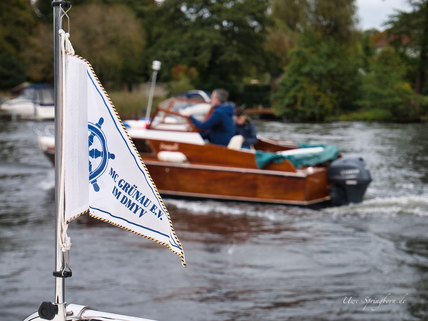 MCG-Wimpel mit Boot